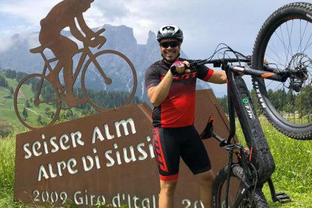 Peter Fill ebike scott shimano bici elettrica pedalata assistita mobe