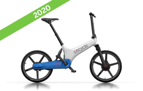 gocycle gs bianco blu ebike 2020 bici elettrica pieghevole bologna mobe