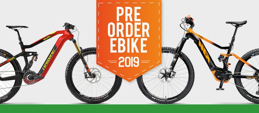 pre order ebike modelli 2019 mobilita elettrica