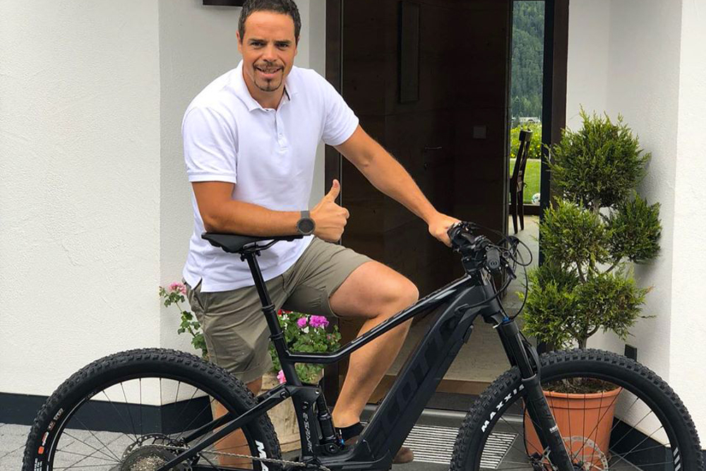 Peter Fill ebike pedalata assistita mobe