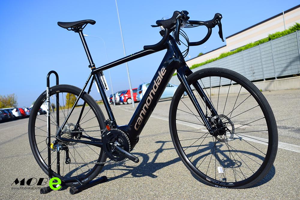 Cannondale Synapse Neo 3 2 ebike bosch 2019 bici corsa elettrica mobe