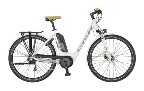 scott sub tour eride 10 unisex ebike city bosch 2019 bici elettrica trekking mobe