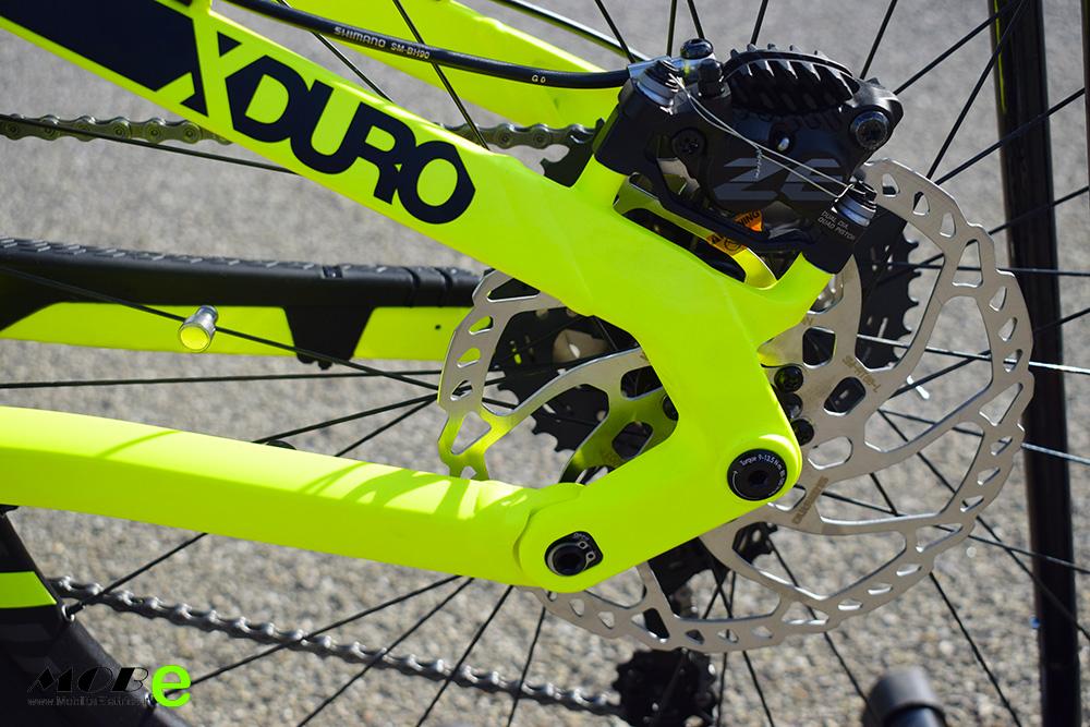 Haibike XDuro Dwnhll 9 tech10 ebike 2019 bici elettrica mobe