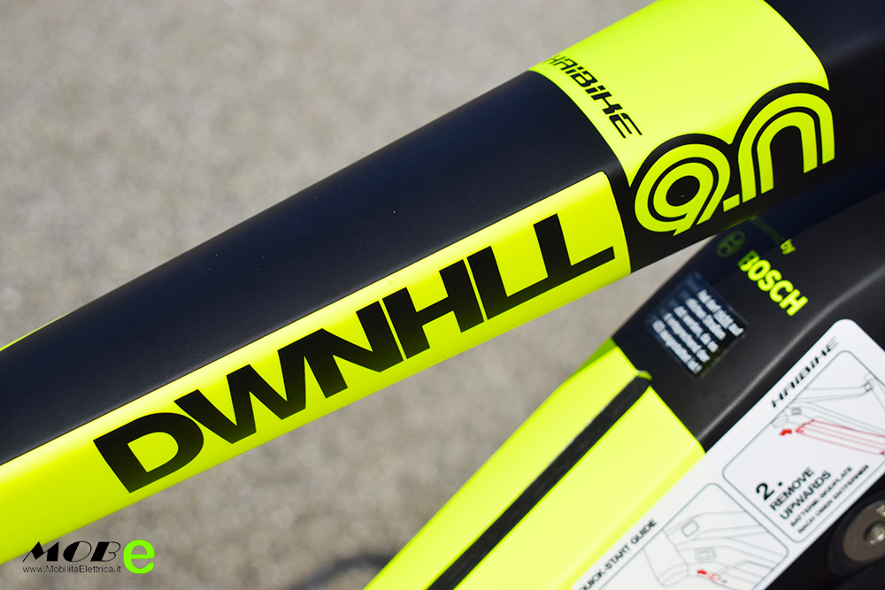 Haibike XDuro Dwnhll 9 tech5 ebike bosch top gamma 2019 bici elettrica mobe