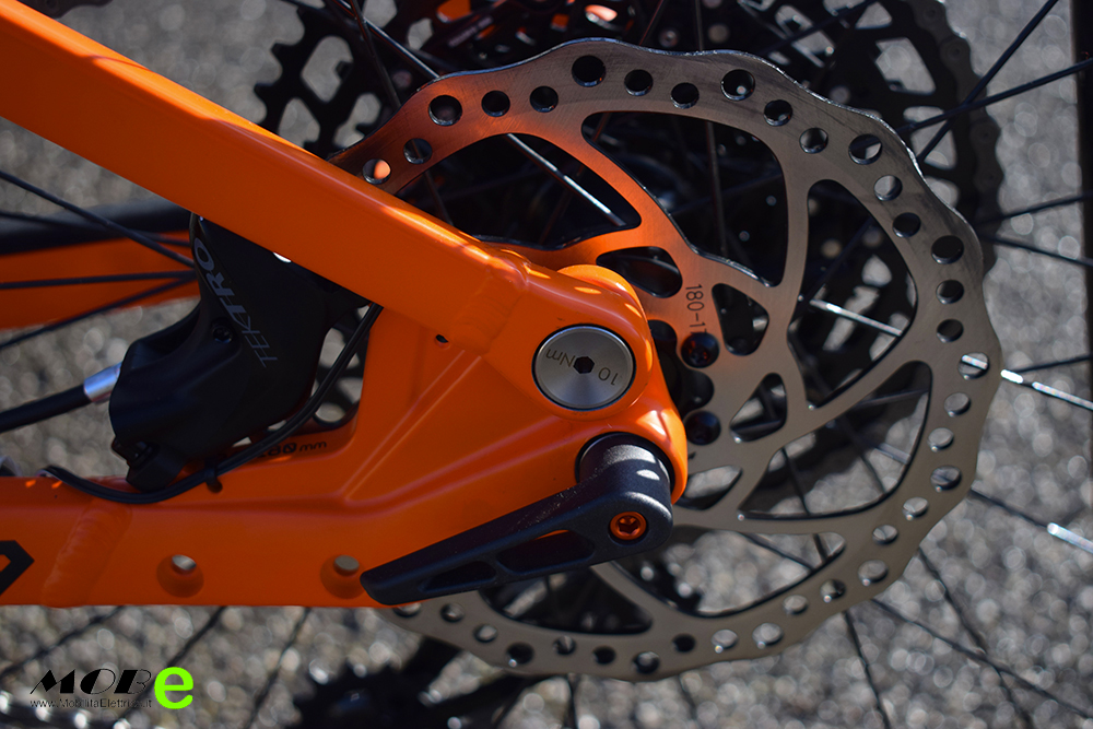 KTM Macina Chacana 293 tech7 ebike 2019 bici elettrica mobe