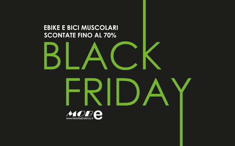black friday ebike bici mobilita elettrica promo