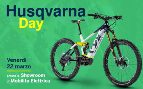 Husqvarna day mobe bici elettriche batteria 630wh