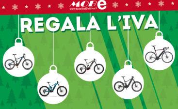 mobe regala iva natale occasioni sconti ebike bici mobilita elettrica banner