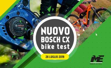 nuovo bosch cx ebike test 26 luglio