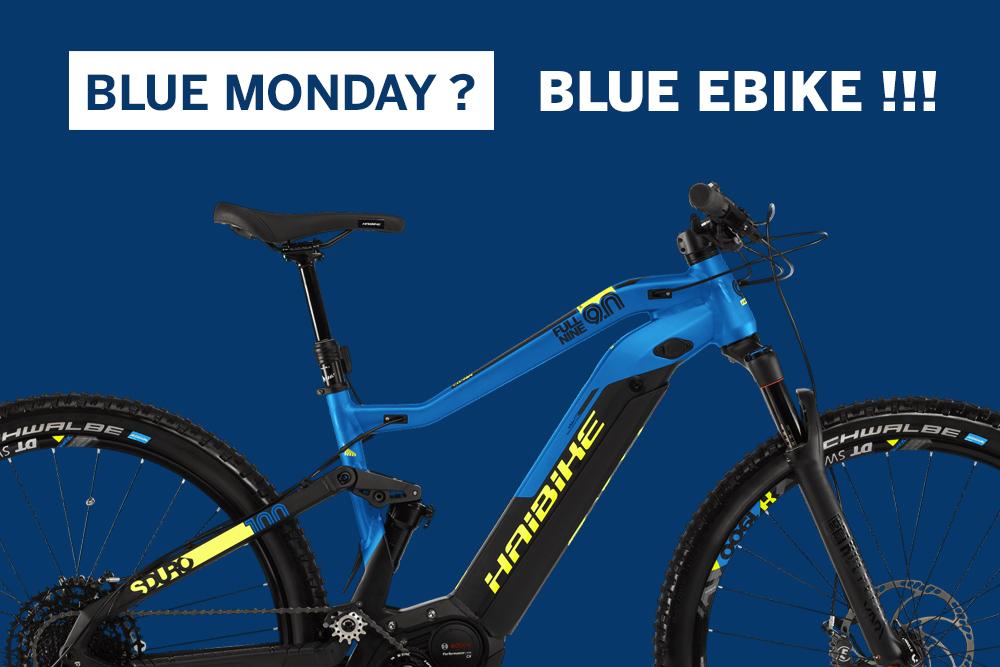Blue monday ebike bici elettrica mobe