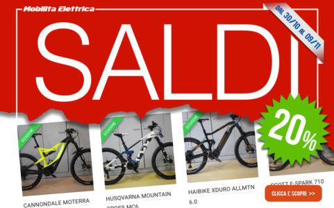 Saldi bici elettriche bologna usata ebike mobilita elettrica sconto occasione banner sito