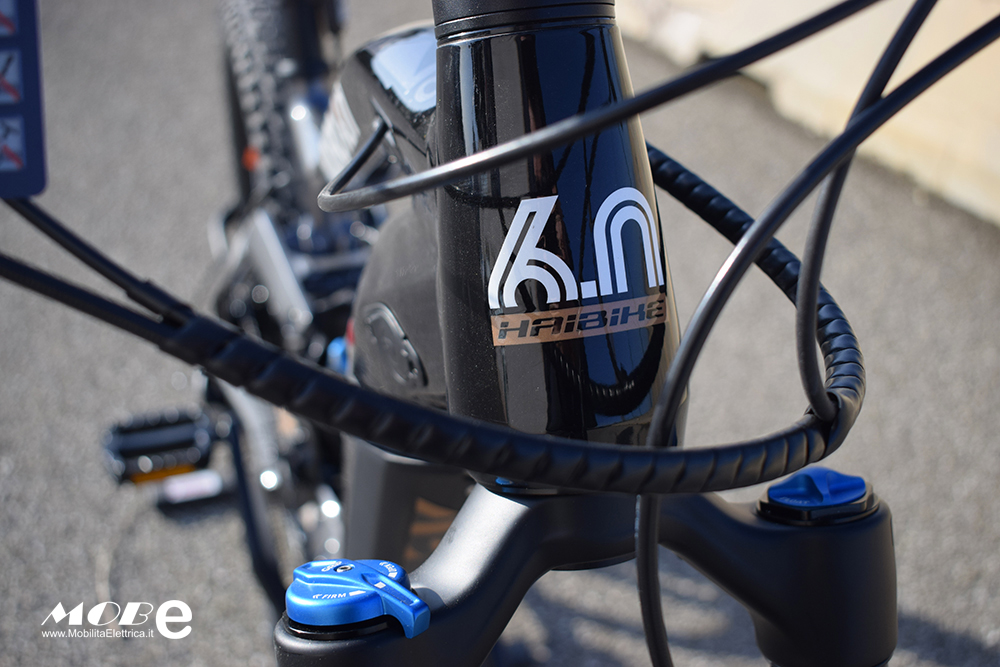 Haibike XDuro NDuro 6 tech10 ebike bosch 2019 bici elettrica mobe