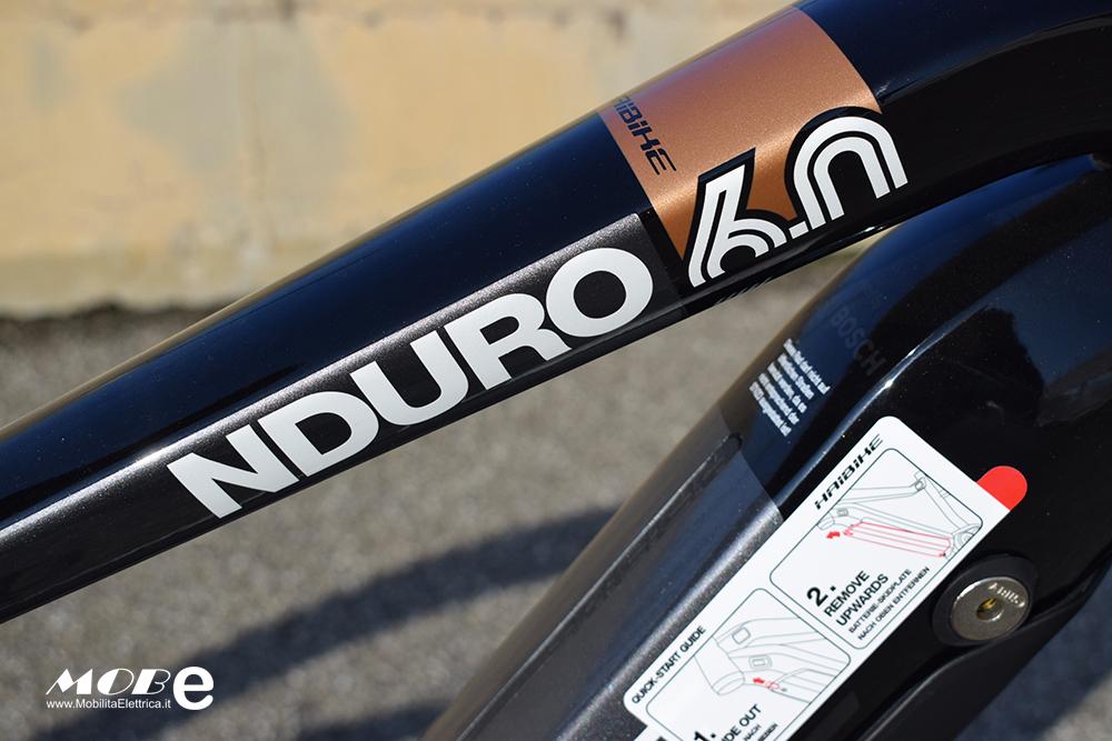 Haibike XDuro NDuro 6 tech2 ebike bosch 2019 bici elettrica mobe