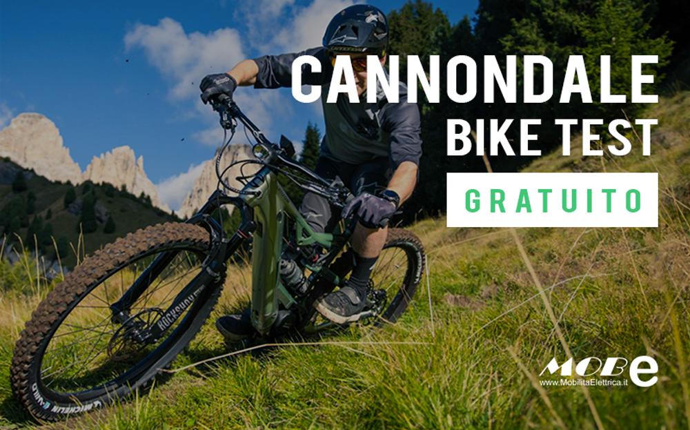 Cannondale test gratuito bici elettriche mobe