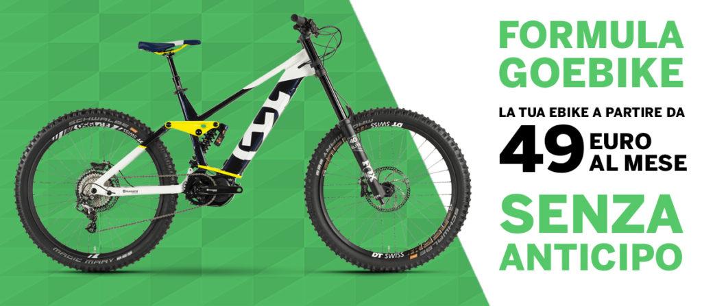 formula goebike finanziamento 49 euro mese mobe ebike cover bici elettriche