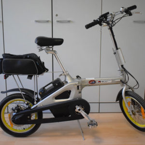 Bici elettrica pieghevole usato ebike mobe