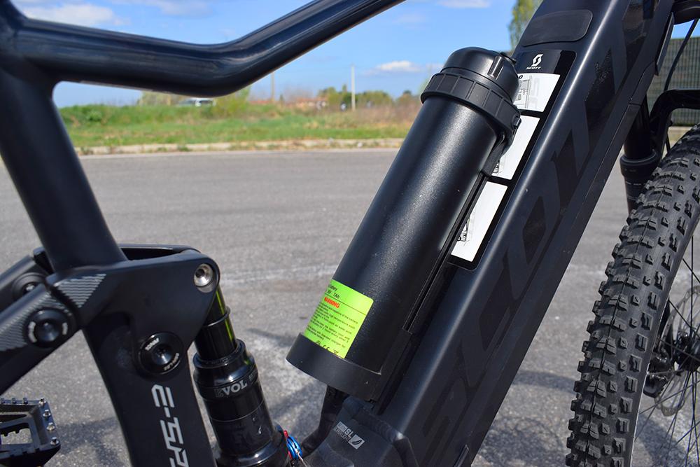 Doppia batteria shimano ebike bici elettrica mobe 3