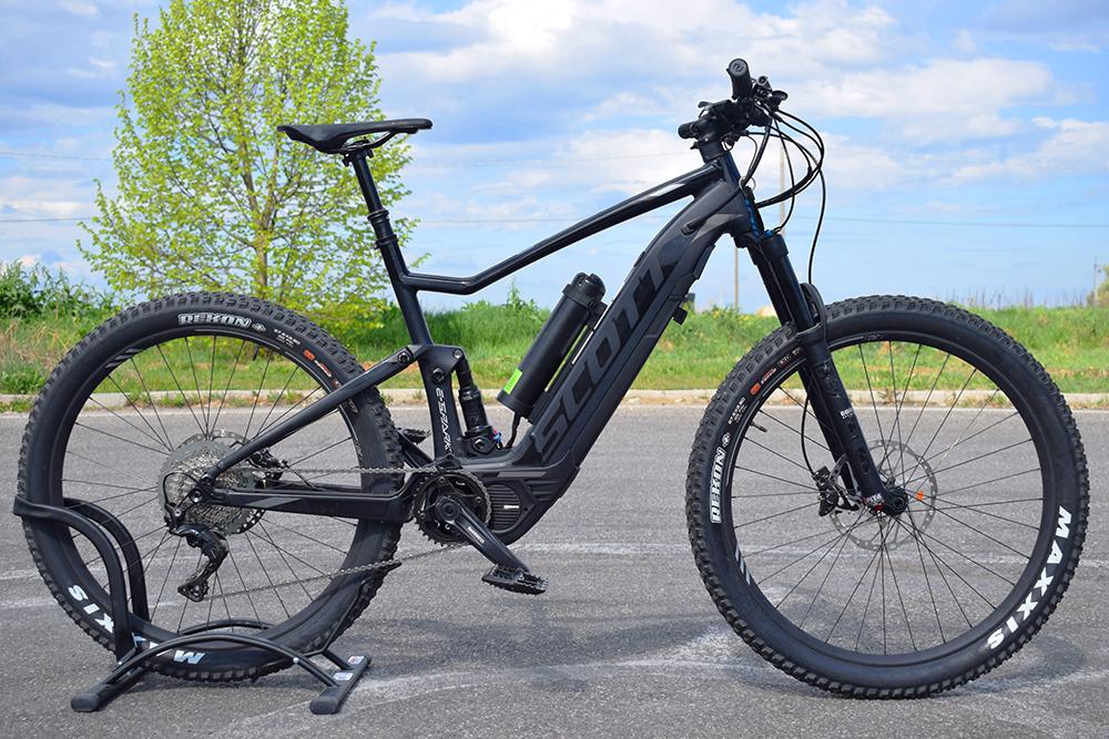 Doppia batteria shimano ebike bici elettrica mobe 1