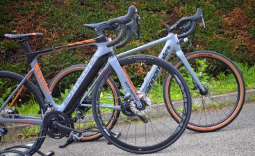 Differenze fra ebike gravel e corsa mobe bici elettriche