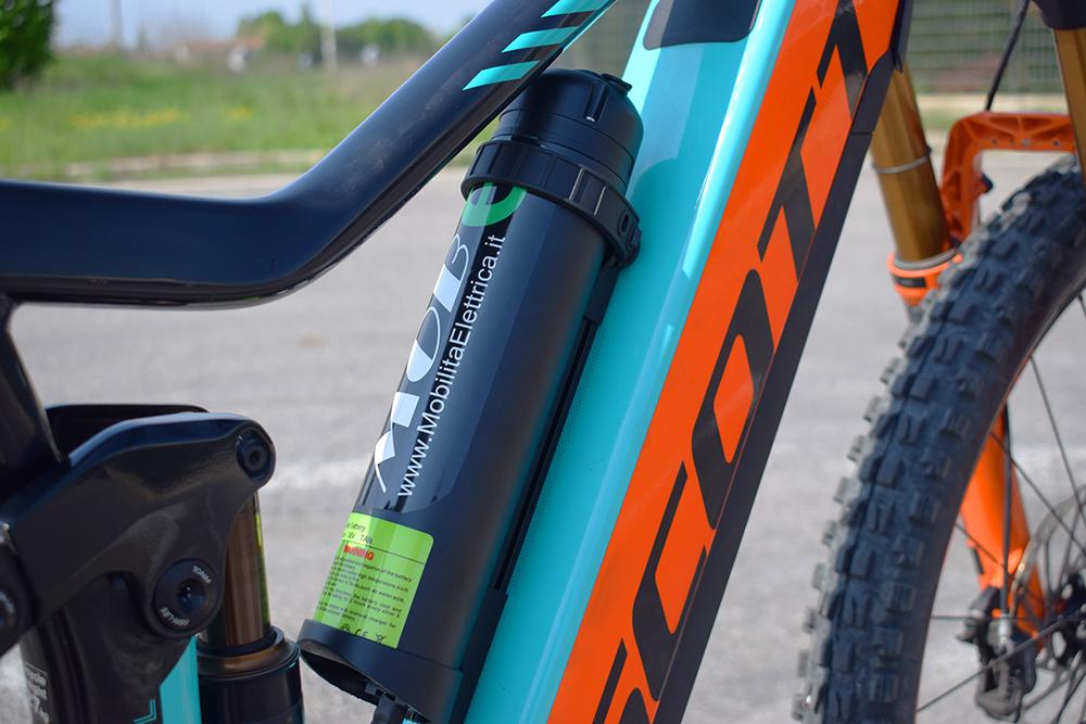 Doppia batteria ebike shimano mobe bici elettriche 3