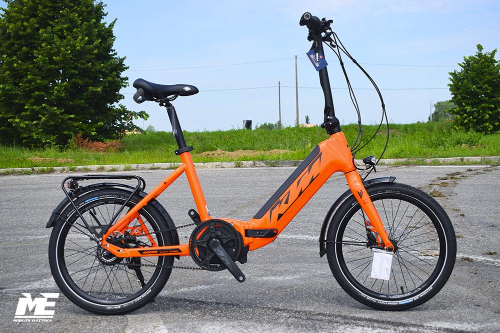 KTM Macina Fold 20 1 ebike pieghevole bosch 2019 bici elettrica mobe