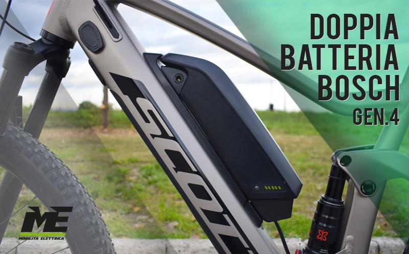 scott nuovo bosch doppia batteria bici elettrica 2020