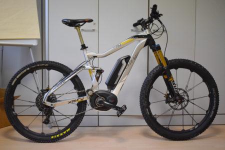 16 Haibike XDuro AllMtn Pro bici elettriche mtb bologna ebike usata occasione mobilita elettrica