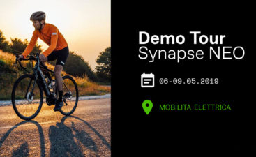 Cannondale synapse demo tour prova ebike mobe bici elettriche