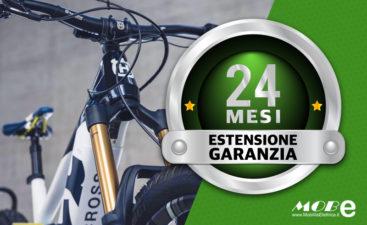 Estensione garanzia bici elettriche mobe ebike banner