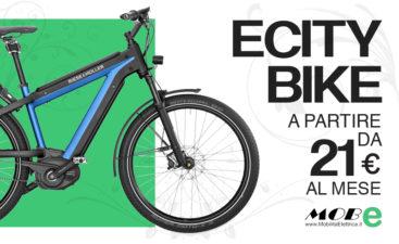 Promo city bike finanziamento 21 euro ebike mobe bici elettriche