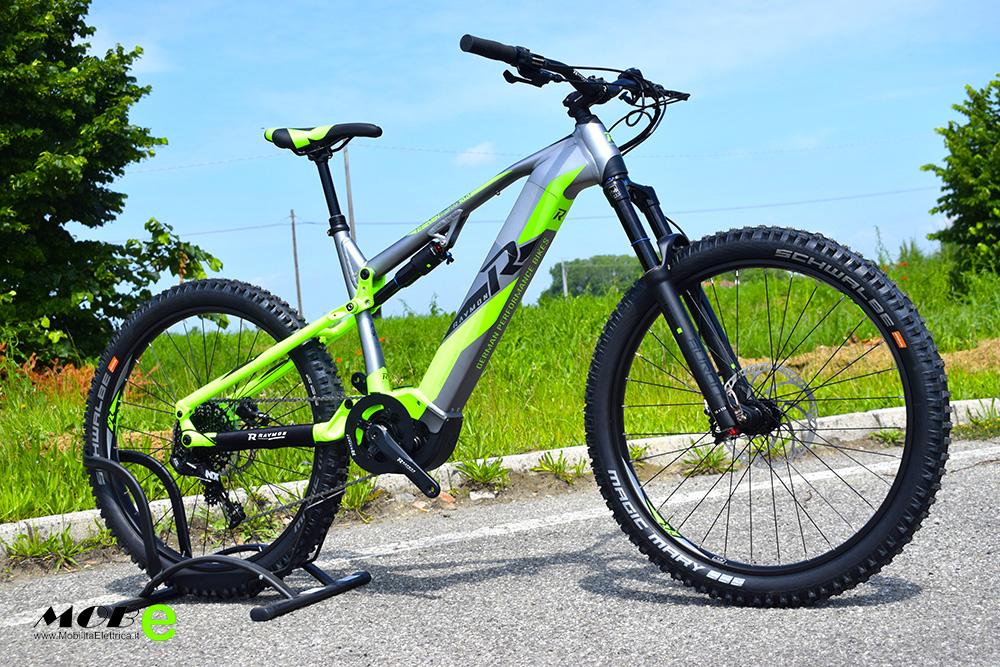 Raymon ESeven TrailRay 10 2 yamaha pwx batteria integrata ebike 2019 bici elettrica mobe