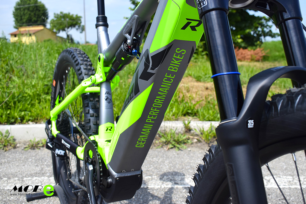 Raymon ESeven TrailRay 10 tech1 yamaha pwx vbatteria integrata ebike 2019 bici elettrica mobe