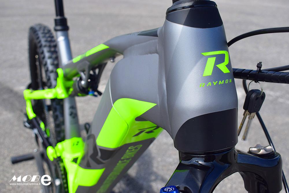 Raymon ESeven TrailRay 10 tech10 yamaha pwx batteria integrata ebike 2019 bici elettrica mobe
