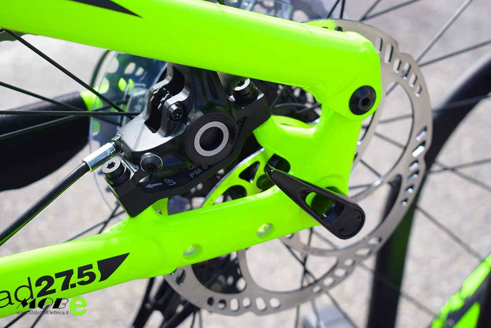 Raymon ESeven TrailRay 10 tech11 yamaha pwx batteria integrata ebike 2019 bici elettrica mobe