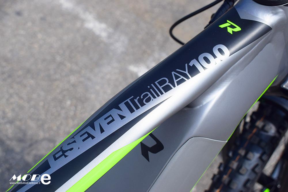 Raymon ESeven TrailRay 10 tech5 yamaha pwx batteria integrata ebike 2019 bici elettrica mobe