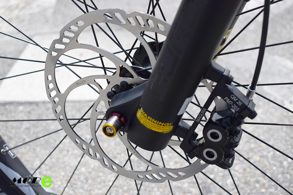 Raymon ESeven TrailRay 10 tech9 yamaha pwx batteria integrata ebike 2019 bici elettrica mobe