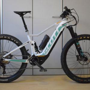 Scott e-spark 710 doppia batteria 800 wh ebike usata bici elettrica occasione bologna