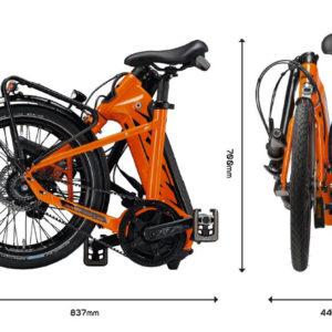 ktm macina fold 20 pieghevole 2 bosch ebike 2019 bici elettrica mobe