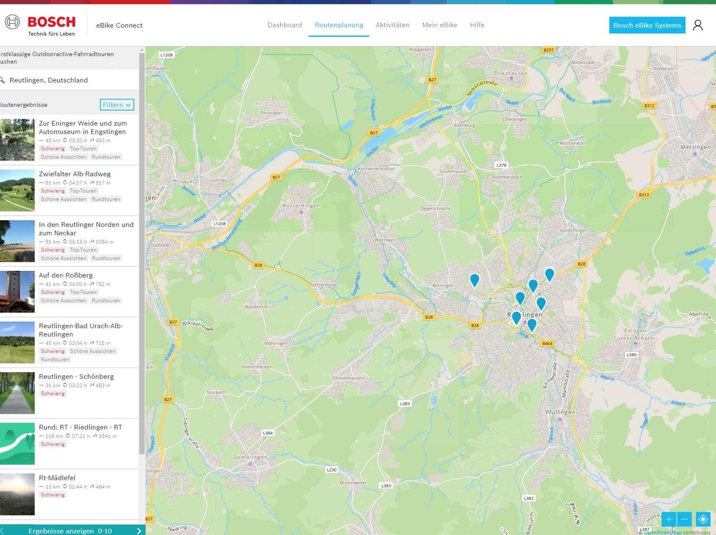 aggiornamento Bosch eBike Kiox Smartphone App online Portale 3
