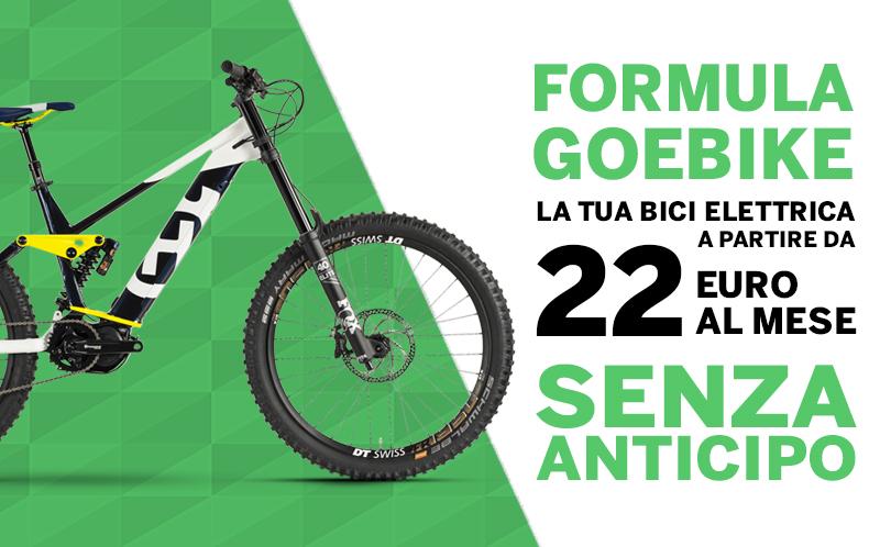 formula goebike bici elettriche finanziamento 24 mesi no anticipo 22 euro mobe