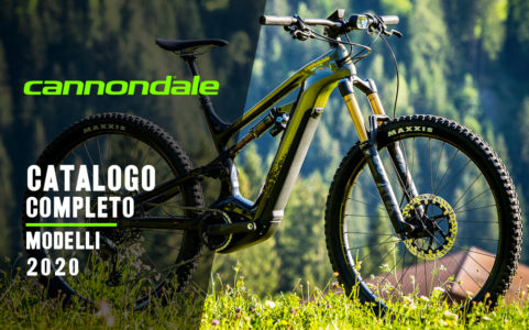 CANNONDALE catalogo modelli bici elettriche 2020 ebike mobilita elettrica