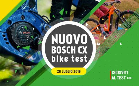 Ebike test 26 luglio nuovo bosch cx