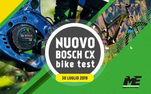 Ebike-test nuovo bosch cx 30 agosto