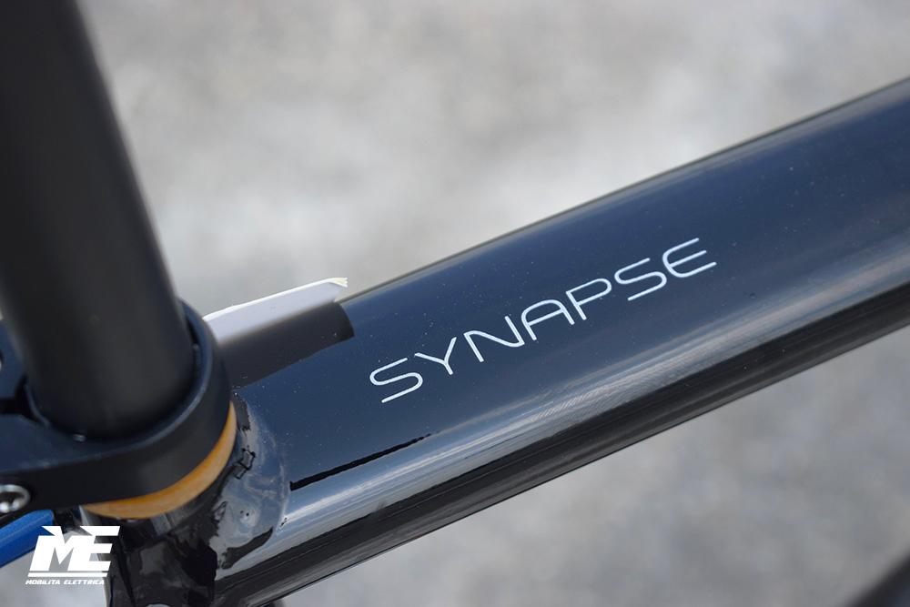 Cannondale Synapse Neo 1 tech7 ebike 2020 bici elettrica corsa mobe