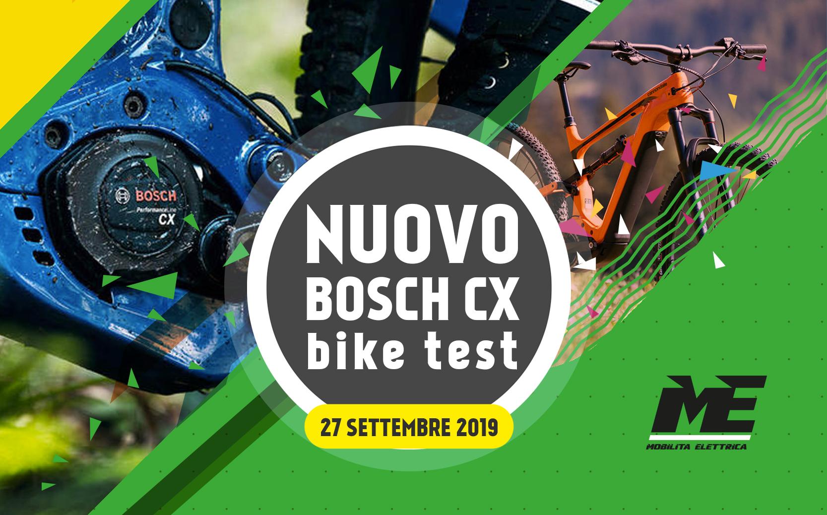 Ebike test nuovo bosch cx 27 settembre