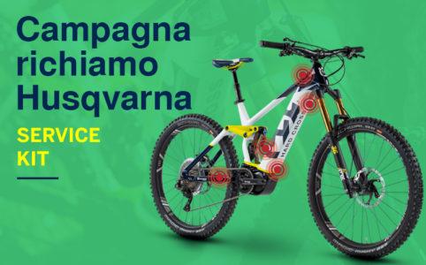 campagna richiamo ebike Husqvarna service kit risoluzione problemi mobe