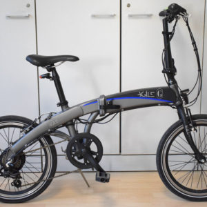 Bottecchia be08 graziella agile bici elettrica pieghevole usata ebike occasione mobe