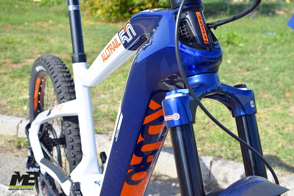 Haibike xduro alltrail 5 tech12 ebike flyon 2020 bici elettrica mobe