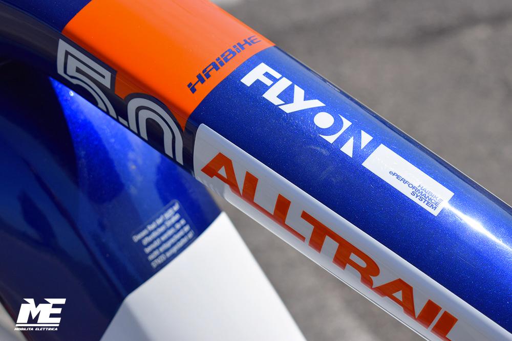 Haibike xduro alltrail-5 tech3 ebike flyon 2020 bici elettrica mobe