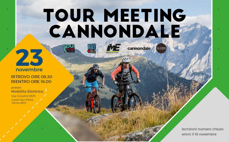 tour 23 novembre bici elettrica bologna